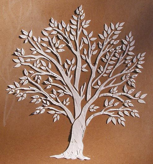 Our Raised Plaster Miniature tree stencil lets you create a beautiful and intricate tree design in smaller places, such as cabinet doors, friezes on boxes ...