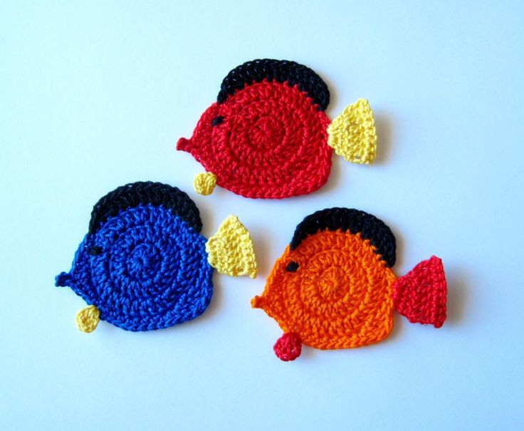 Fancy Goldfish Amigurumi By Kate Wood : 174 best images about Animals - fish and etc. on Pinterest