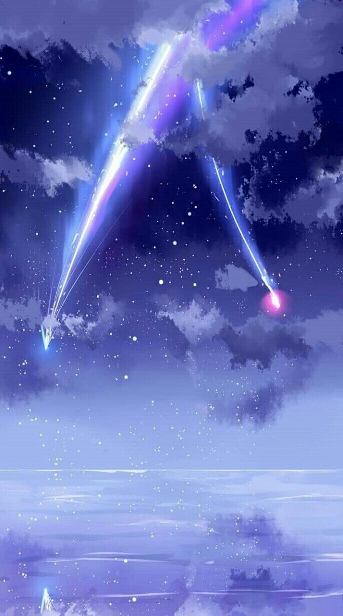 Pin By Apai Biceps On Kimi No Na Wa In 2020 Anime Artwork Wallpaper Anime Backgrounds Wallpapers Anime Wallpaper Iphone