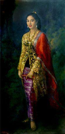 Basoeki Abdullah - Putri Indonesia