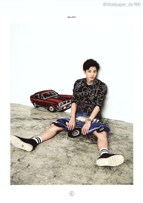 CHANYEOL  //  2016 EXO CALENDAR