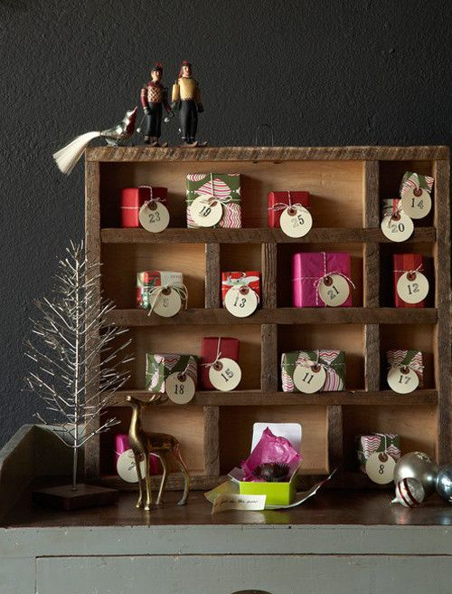 クリスマスまでのカウントダウン!アドベントカレンダーのデコレーション60 の画像|賃貸マンションで海外インテリア風を目指すDIY・ハンドメイドブログ<paulballe ポールボール>