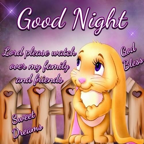 Good Night and Godbless