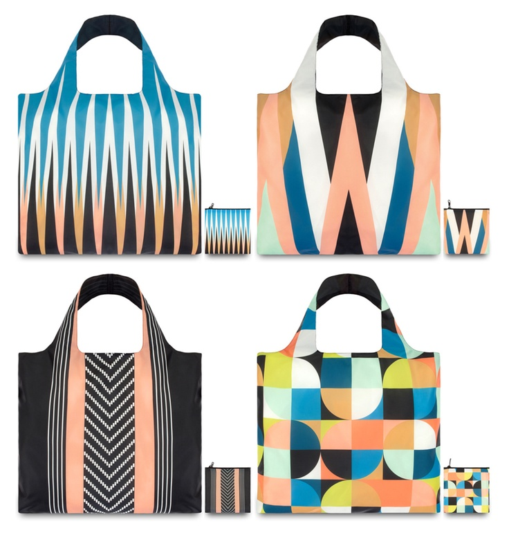 LoQi Echo Collection. These amazing foldable shopping totes are available for only $13.90 at The Planet Traveller