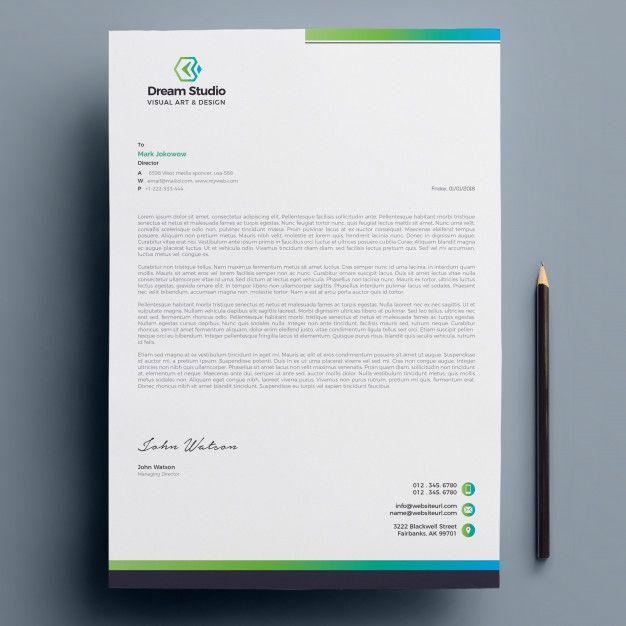 Letterhead Letterhead Design Inspiration Company Letterhead
