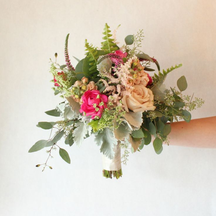 """The Warehouse"" Bridesmaids Bouquet"