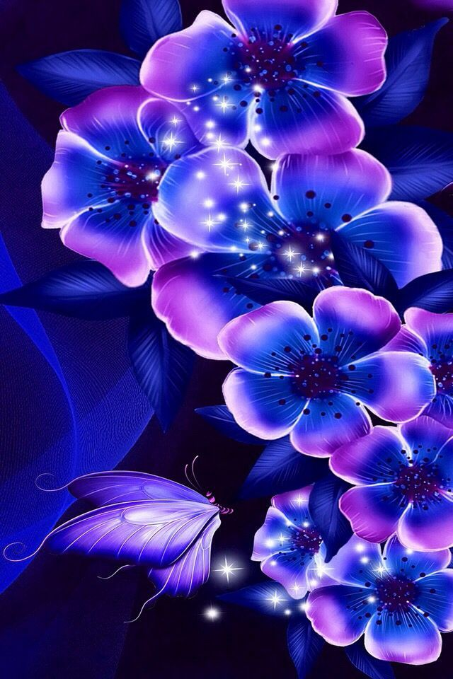 Flowers Spray | Abstract HD Wallpapers 6
