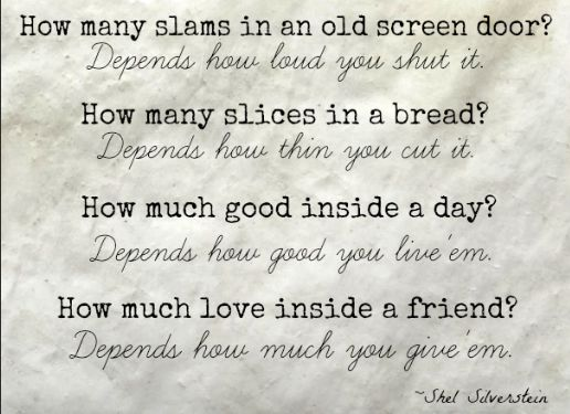 87 best shel silverstein images on Pinterest   Quote, Beds and ...