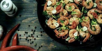 Креветки с овощами | Женское кредо