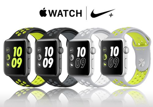 Ολοκαίνουριο Apple Watch Nike+ edition 42mm σε 4 σχέδια!