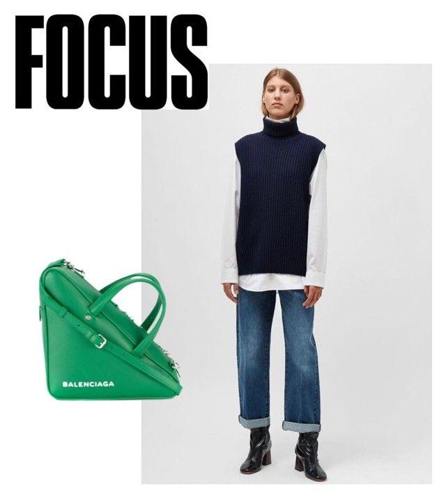 """Focus"" by eva-dato on Polyvore featuring moda y Balenciaga"