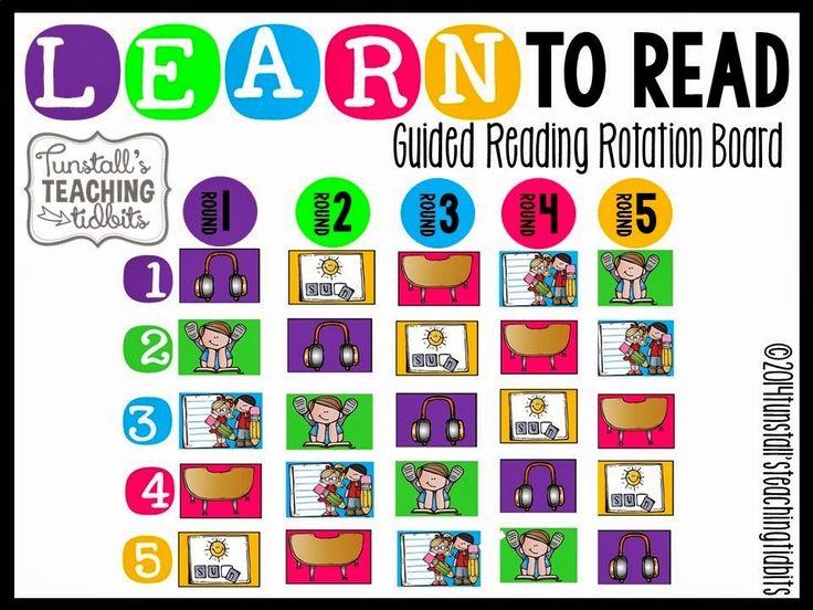 Kick Start Guided Reading! Rotation Board