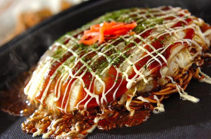 広島焼き風お好み焼きのレシピ・作り方 - 簡単プロの料理レシピ | E・レシピ