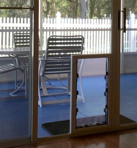 In The Glass MaxSeal Pet Door | Through Glass Pet Door | Glass Dog