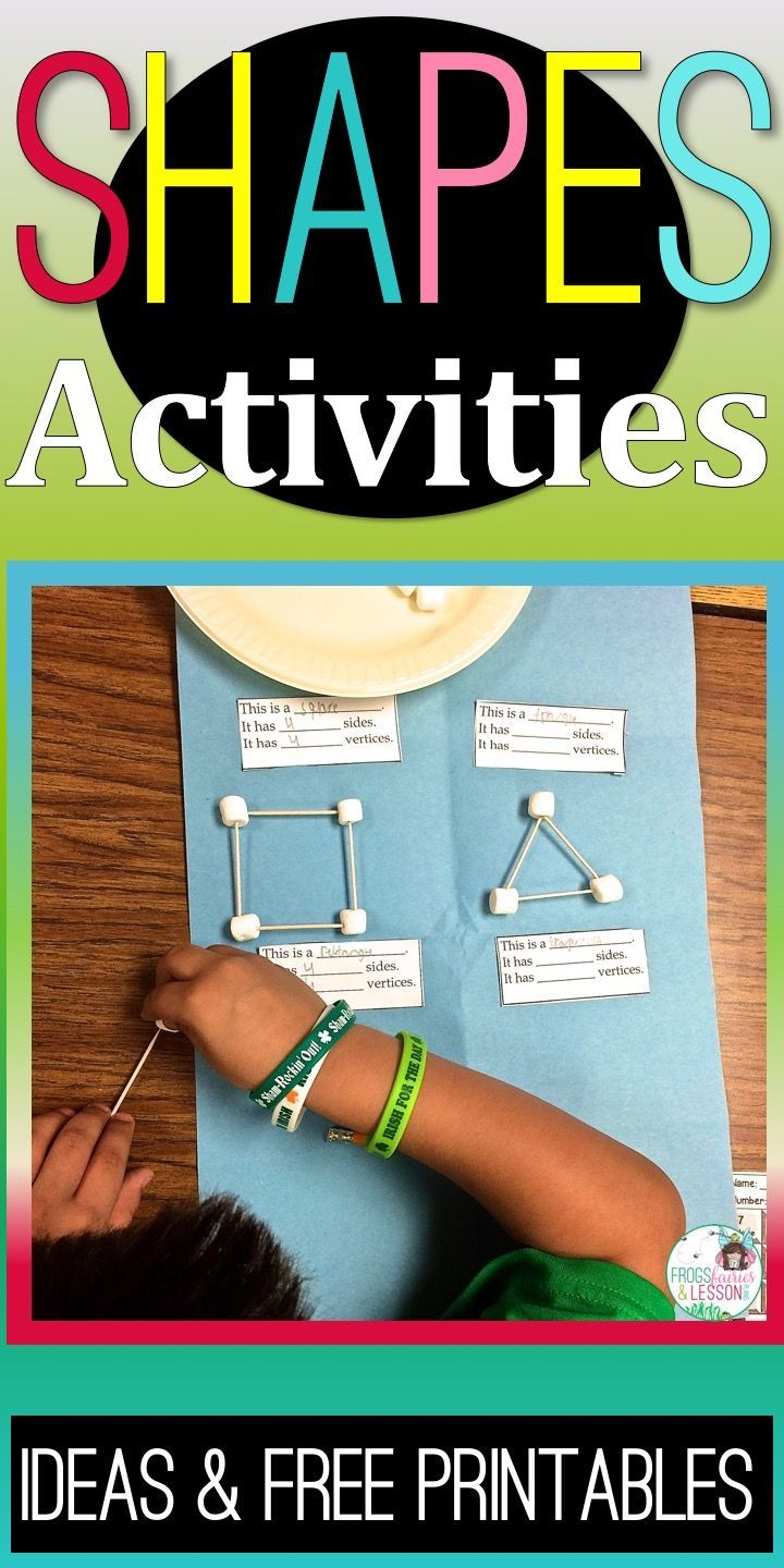 81 best Shapes Activities and Ideas images on Pinterest | 3d shapes ...