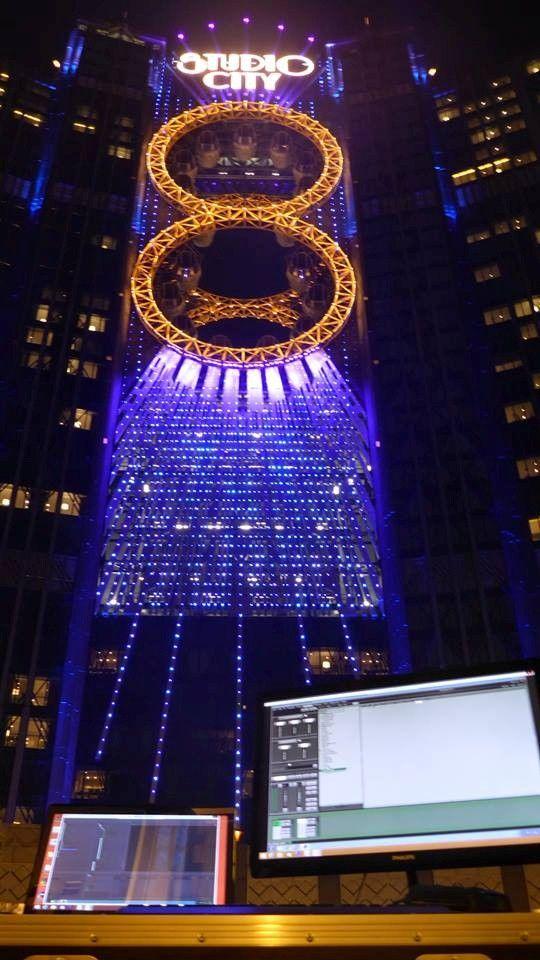 Clarity controlling Studio City, Macau