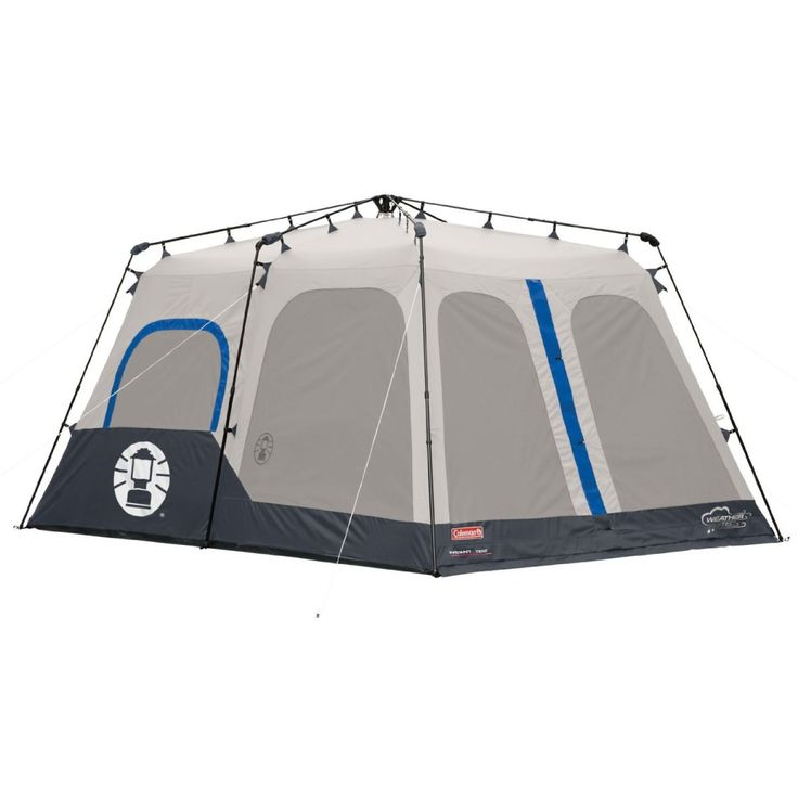 The Coleman Instant 8 person 14- by 10- Foot tent is perfect for larger  sc 1 st  Pinterest & 21 best Best Camping Tents images on Pinterest | Pop up camping ...