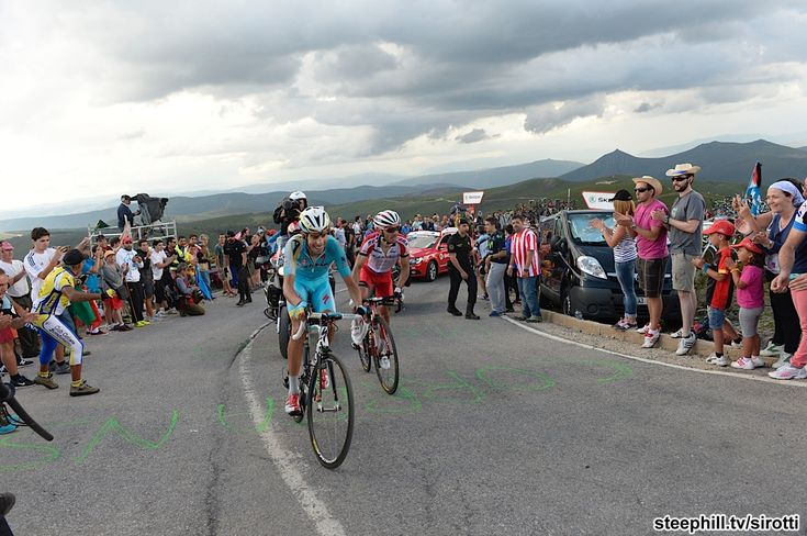 2014 vuelta-a-espana photos stage-20 - Fabio Aru (Astana) and Joaquin Rodriguez (Katusha) who finished 4th + 1:18