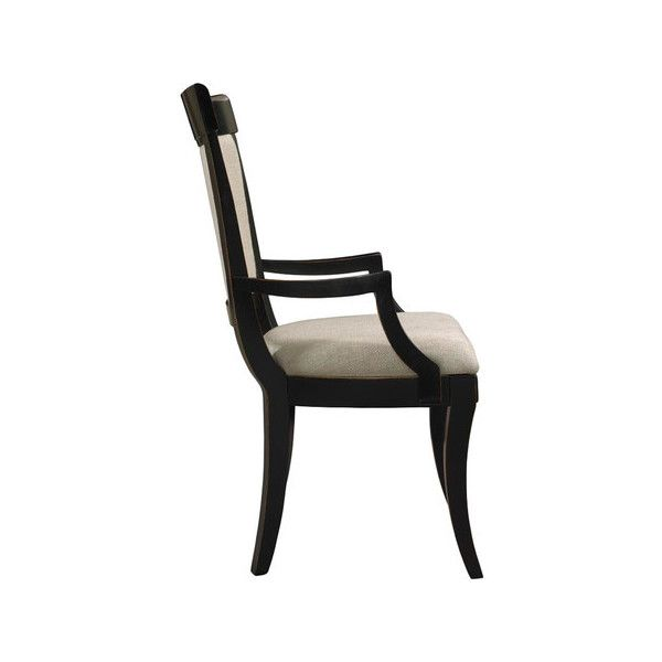 Gaston Arm Chair In Noir