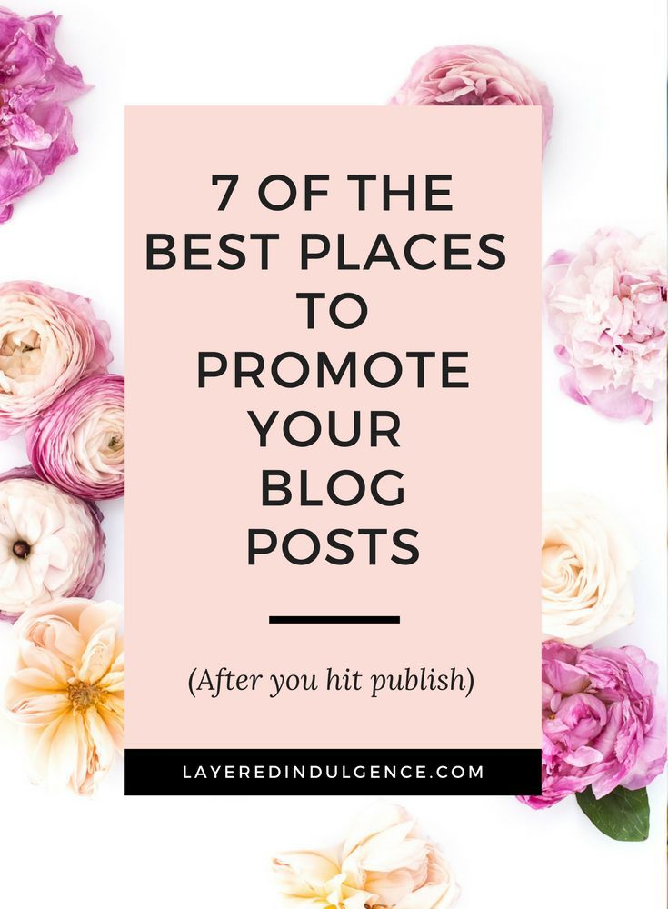 Wondering how to promote your blog posts after you hit publish? From social media to your email list, these are the 7 best tips for how to get more blog traffic to your website. Promoting your blog on Pinterest is my #1 tip! Want to see the rest? Click through to check out the post now and save it for others to pin too!