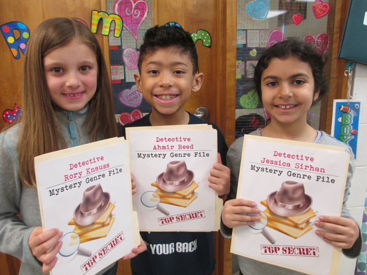 4th grade mystery book report