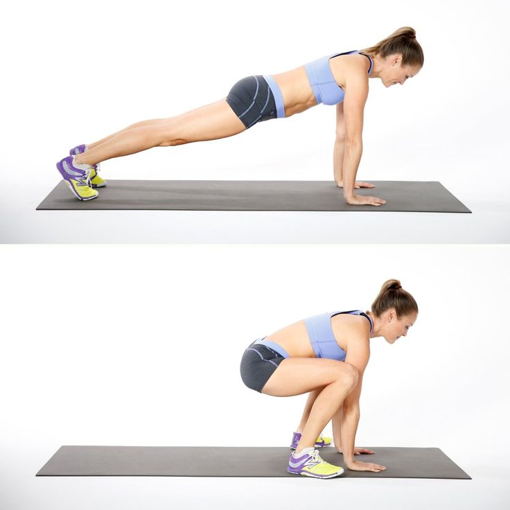Lower into a side elbow plank with your left elbow down and your right hand behind your head.