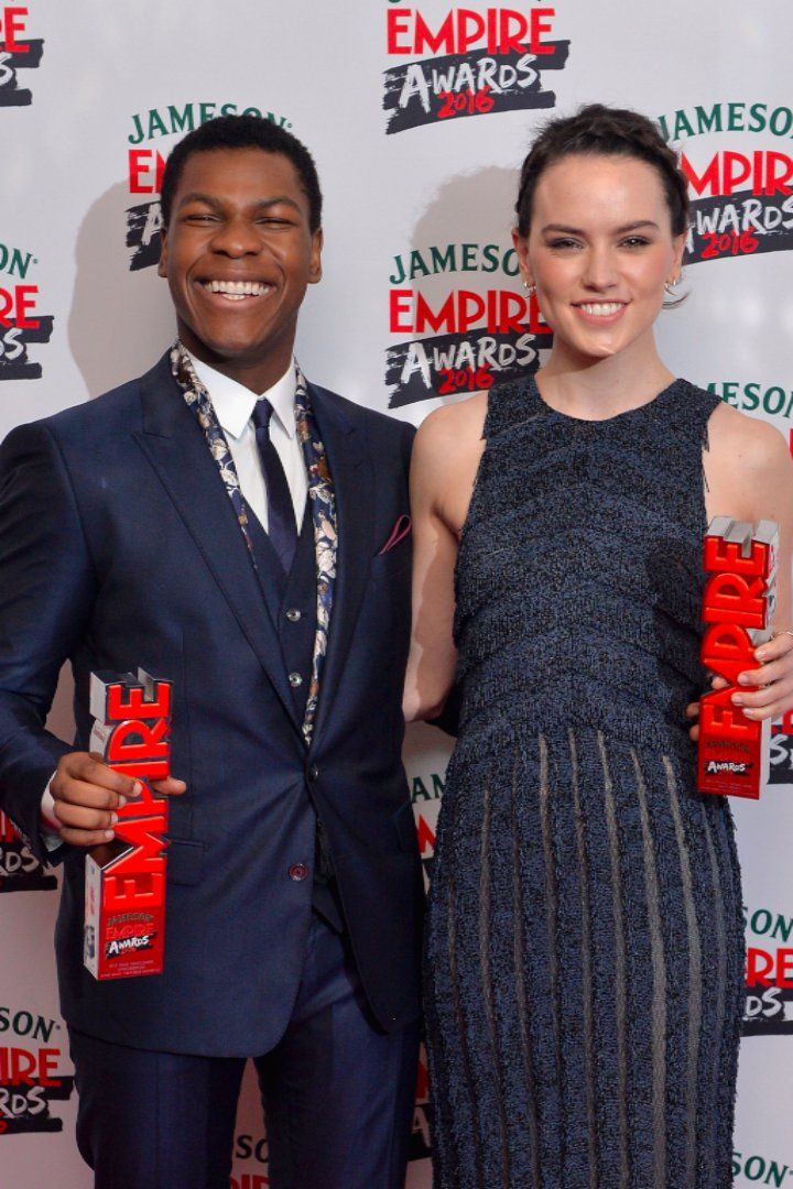 Pin for Later: Daisy Ridley and John Boyega Reunite For Star Wars Celebrations at the Empire Film Awards