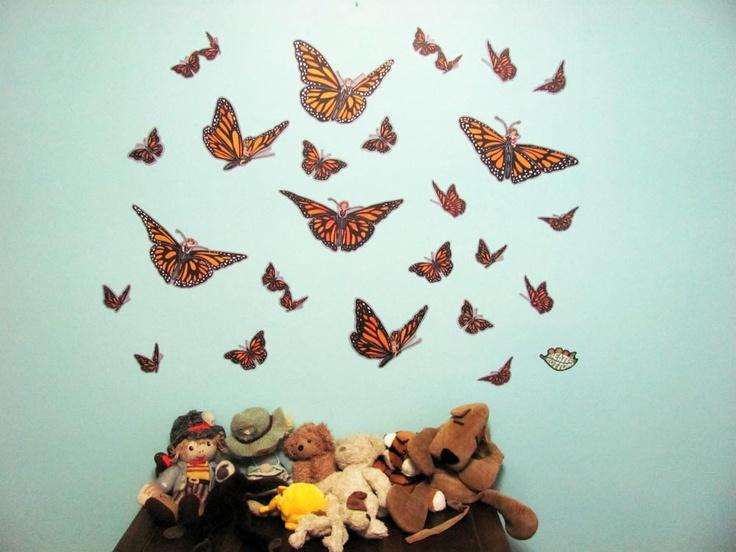 Butterfly Wall Decals  $59 www.beatlebottoms.com