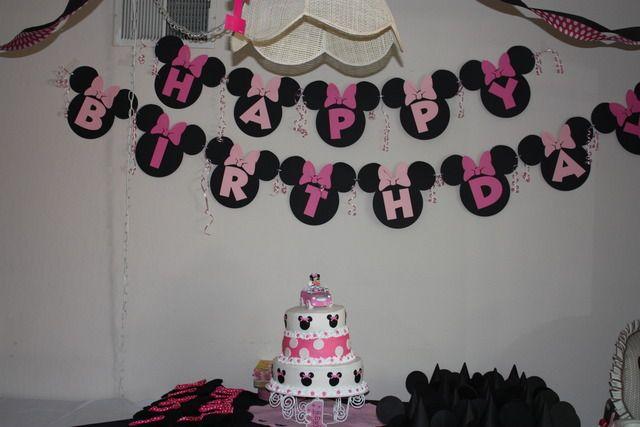 """Minnie Mouse 1st Birthday!!"