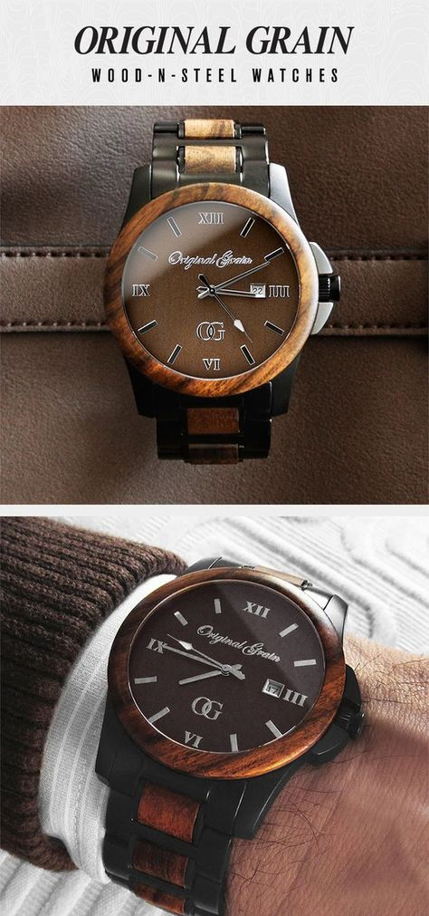 Looking for the perfect gift? This Handcrafted watch is made with Natural Ebony Wood and Black Steel. Something unique for just $149 with Free Shipping!
