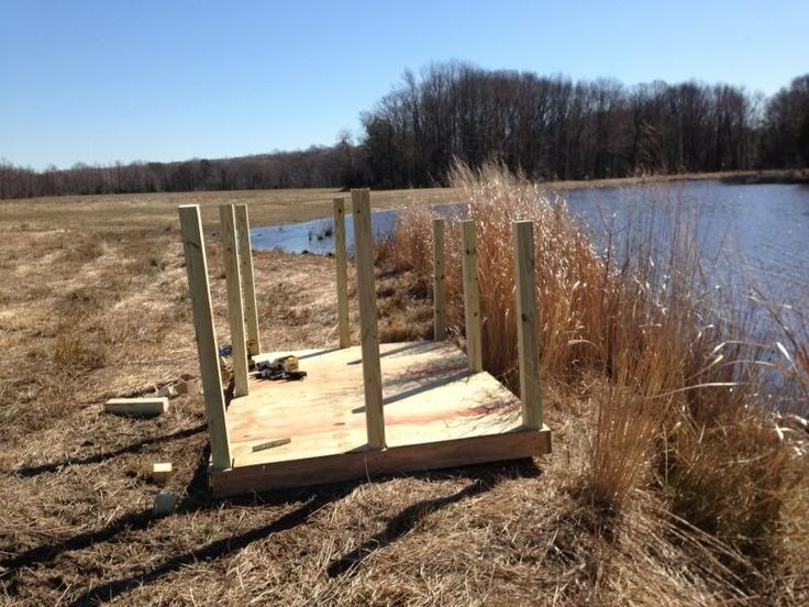 Duck Hunting Blinds Plans