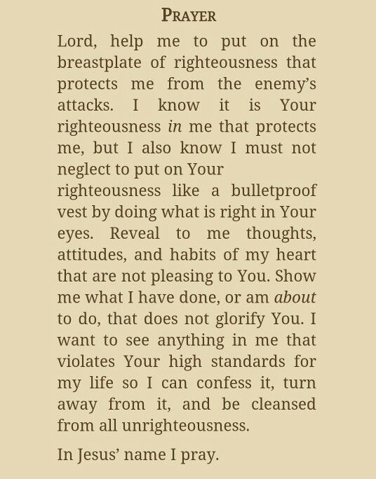 From The 7-Day Prayer Warrior Experience by Stormie Omartian
