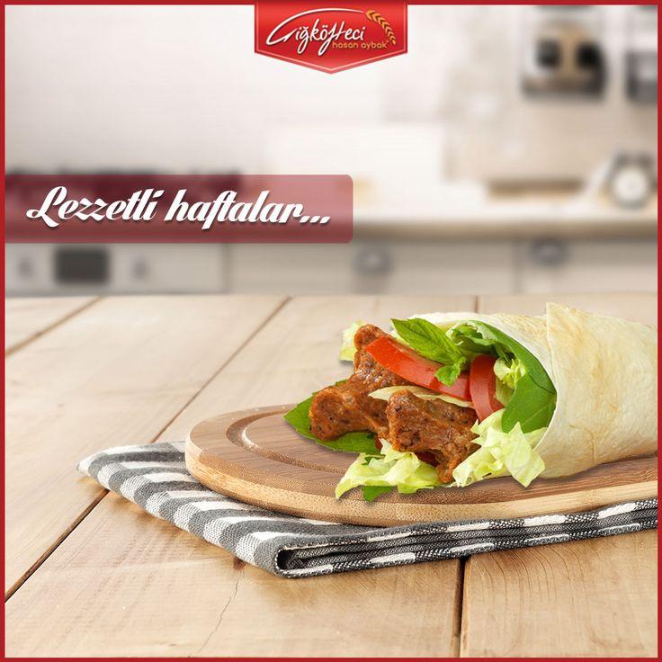Yeni haftaya lezzetli bir başlangıç yapın... #çiğköftecihasanaybak #çiğköfte #lezzet #pazartesi #dürüm #çiğköftedürüm #iyihaftalar