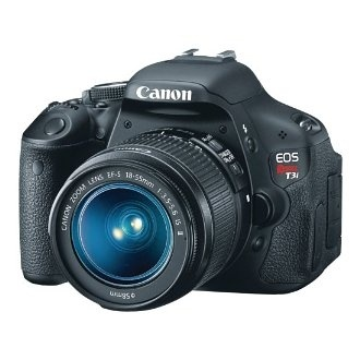 Amazon.com: Canon EOS Rebel T3i 18 MP CMOS Digital SLR Camera and DIGIC 4 Imaging with EF-S 18-55mm f/3.5-5.6 IS Lens: Camera & Photo - StyleSays