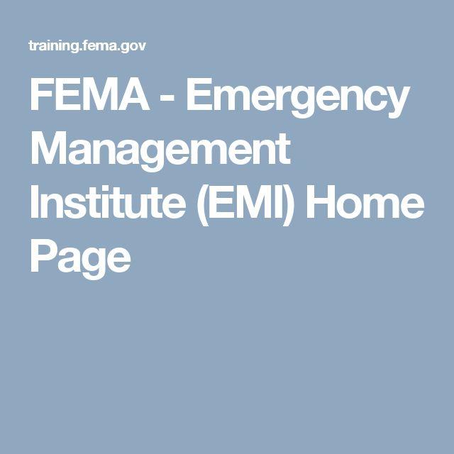 40 best Emergency Management images on Pinterest ...