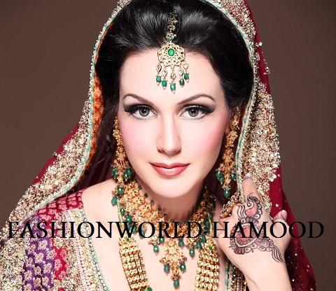 #Indian #wedding #hair #makeup | Mariam's Bridal Salon