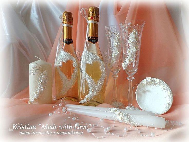 """Купить ГОТОВЫЙ! Свадебный набор """"Каллы"""" - свадебный набор, свадьба, все для свадьбы, свадебный подарок"""