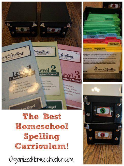 The Best Homeschool Spelling Curriculum - The Organized Homeschooler