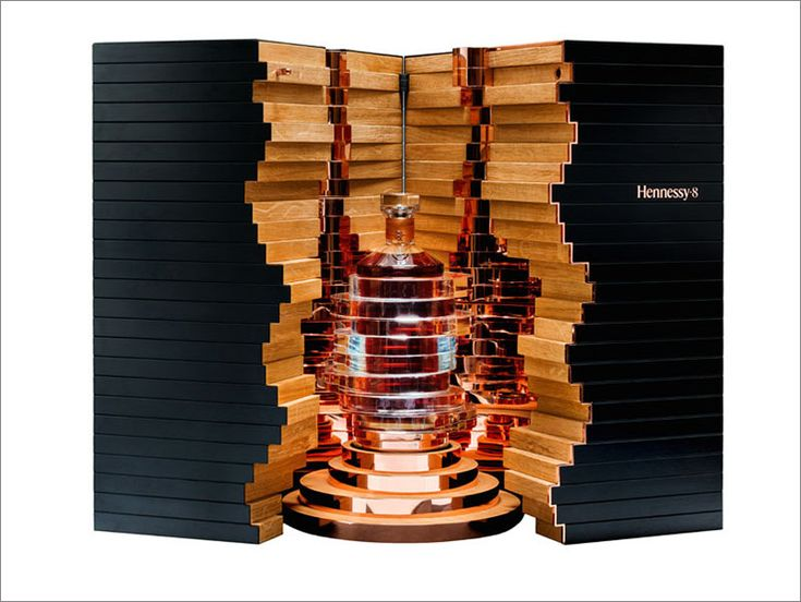 Arik Levy has designed a limited edition bottle and case to celebrate 250 years of Hennessy