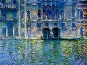 Palazzo da Mula at Venice  by Claude Oscar Monet