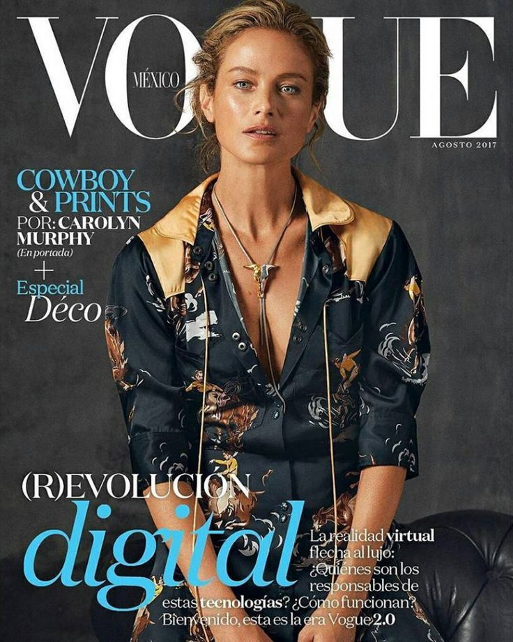 Carolyn Murphy by Will Davidson for Vogue Mexico August 2017