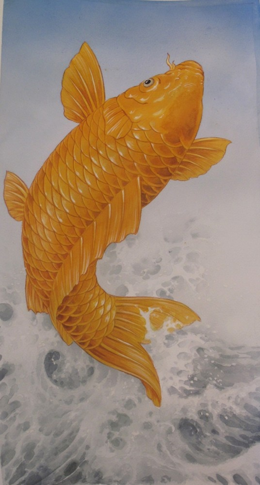 Leaping Koi, Chris Garver