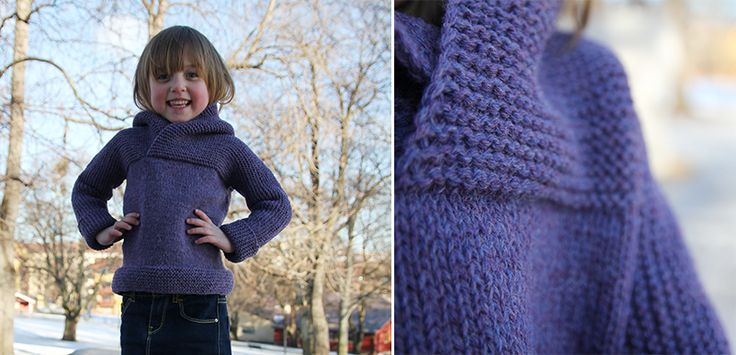 this sweater is so sweet! i would like a pattern for a grown-up version :) free pattern for 2-3 year
