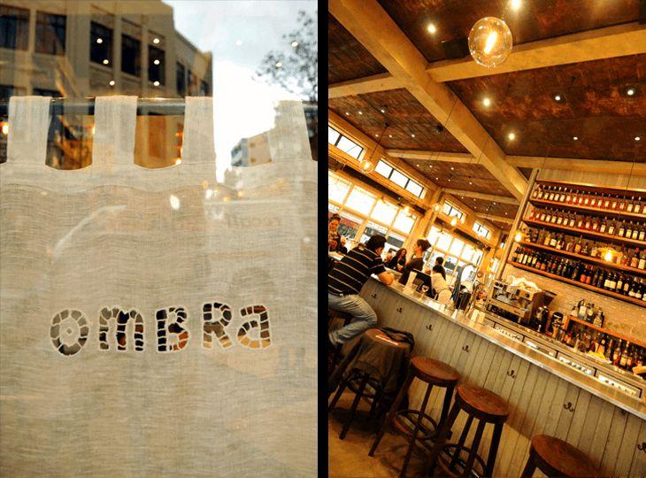 Ombra cafe. Wellington, New Zealand. NZ architects http://architecturehdt.co.nz/hospitality/
