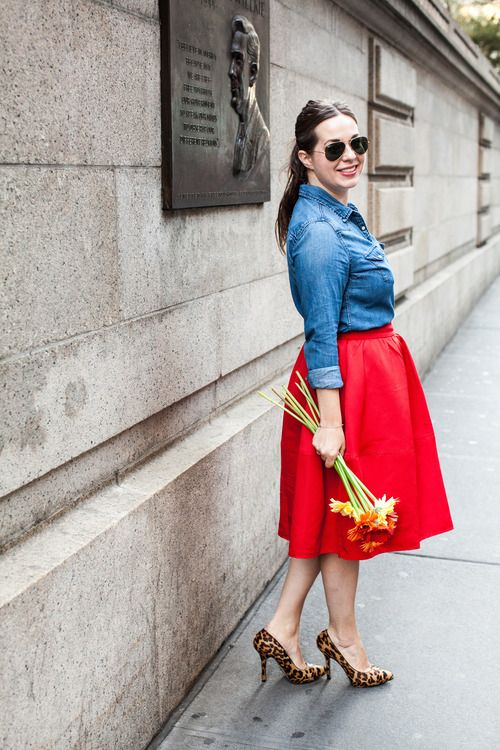 Red Fire Skirt Chat150315
