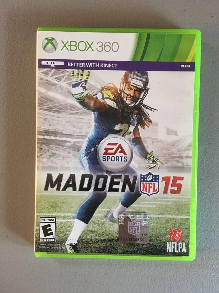 Madden 15 Xbox 360  | eBay
