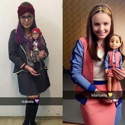 Saiu as bonecas da novela cúmplices de um resgate