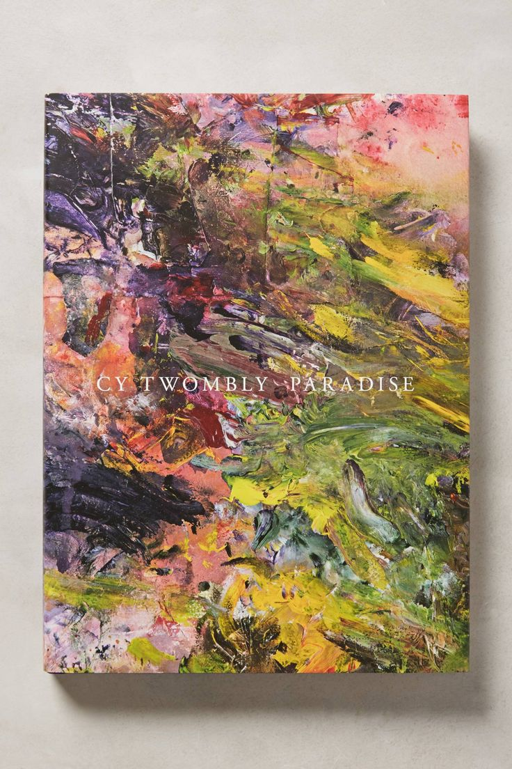 Cy Twombly Paradise #giftsforher