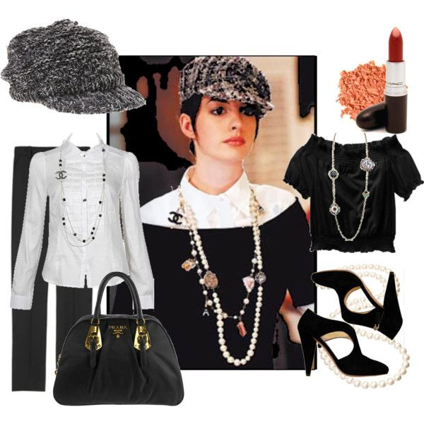 Anne Hathaway Style, created by prettybaby on Polyvore