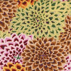 Dahlia Blooms - Vintage